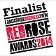 Shortlisted in the Legal Team of the Year category at Red Rose Awards